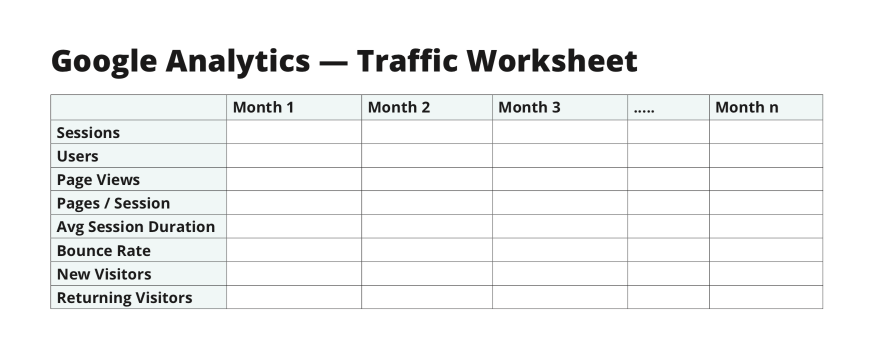 analytics-worksheet