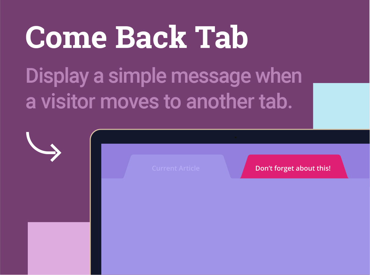 Come Back Tab