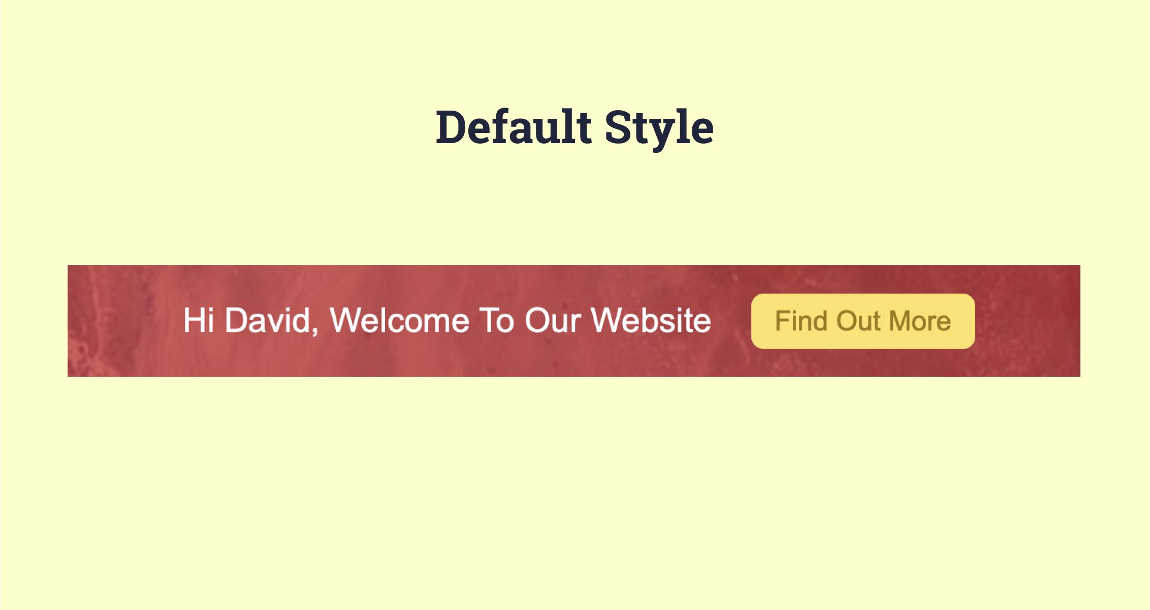 default-style-personalised