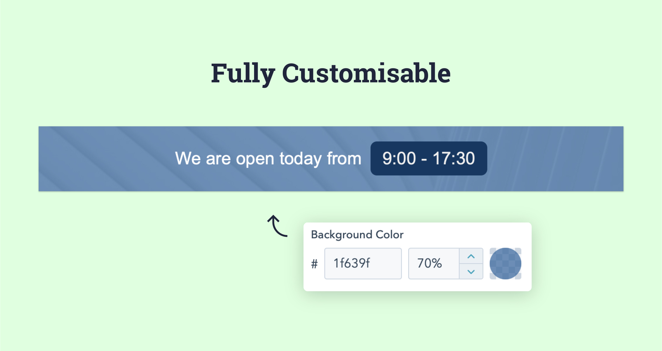 full-customisable